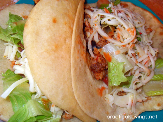 I love a quick, simple dinner like these beef tacos!