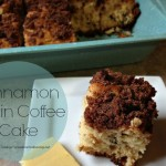 Clean Eating Cinnamon Raising Coffee Cake