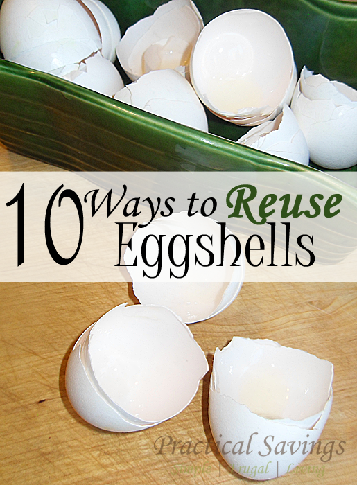 10 Simple Ways to Reuse Your Eggshells