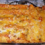 Foodie Friday: Enchiladas (Great Freezer Meal)