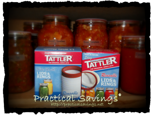 {Review & Giveaway} Tattler Canning Lids from LPC Survival Ltd.