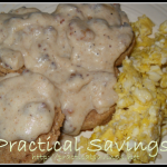 {Grain Mill Wagon Challenge Guest Post} Whole Wheat Biscuits and Gravy