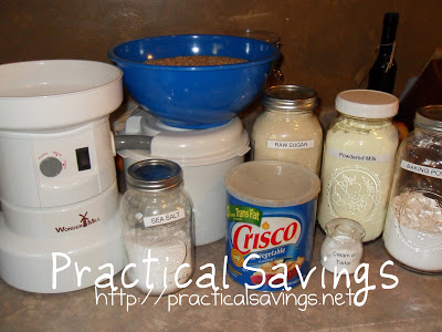 {Guest Post on Grain Mill Wagon} Quick & Easy Whole Wheat Baking Mix