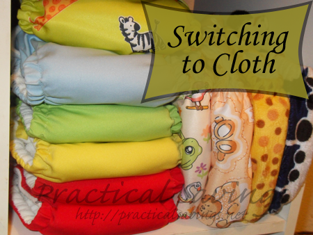 Thinking about switching to cloth diapers? Here is a list of pros and cons.