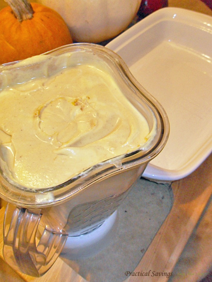 Pumpkin Ice Cream - perfect for the holidays and it's gluten and dairy free.