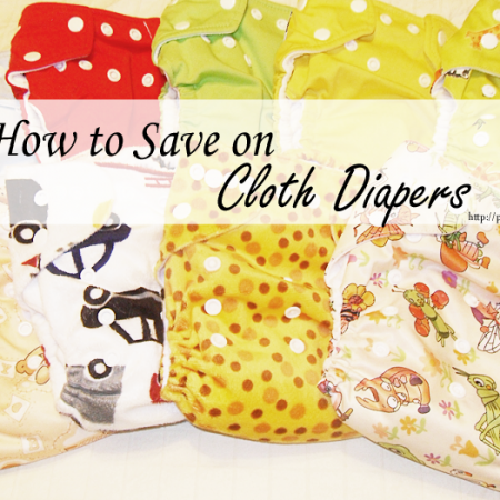 How to Save On Cloth Diapers