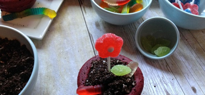 How to Make Flower Pot Cakes