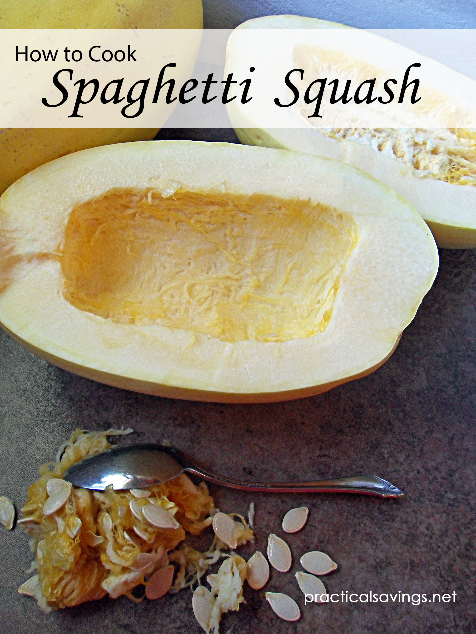 Spaghetti Squash Pinnable
