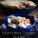 Marinated Chicken Pot Pie
