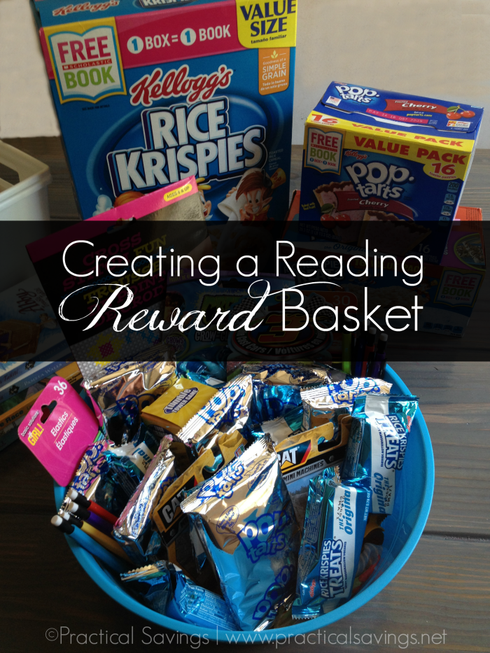 Creating a Reading Reward Basket