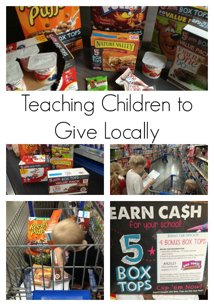 Kids, Box Tops and Education – Giving to Your Local Community