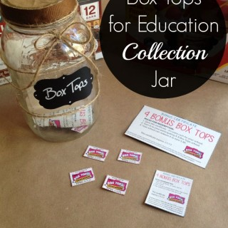 Turn your spare Mason jar into a fun, rustic #BTFE Collection Jar.l [ad]