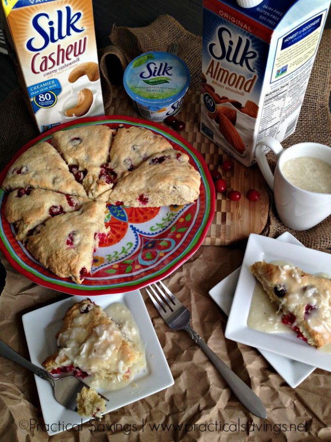 Coconut Cranberry Scones