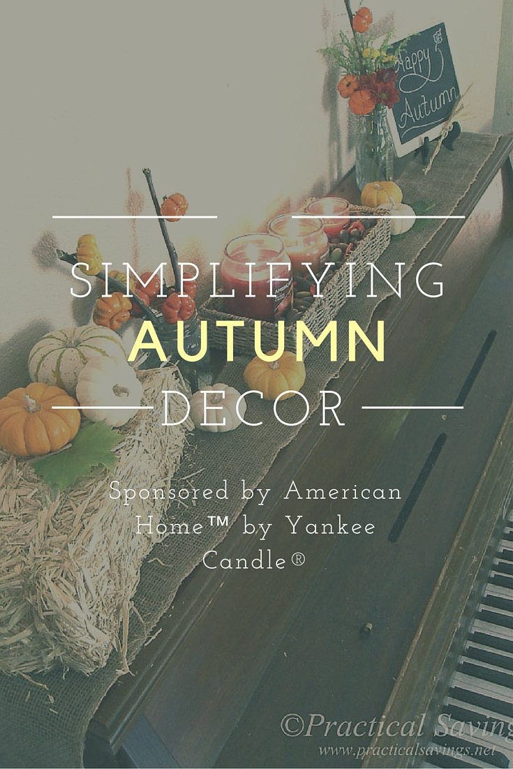 Simplifying Your Autumn Decor