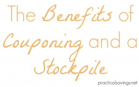 Want to know some of the benefits of couponing and a stockpile?