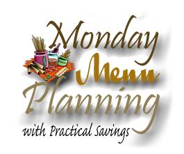 Monday Menu Planning ~ Week 4