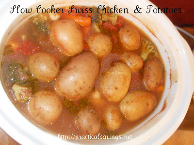 Slow Cooker Chicken and Potato Soup