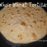 {Recipe} Homemade Whole Wheat Tortillas