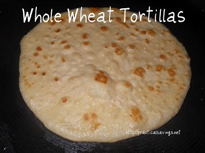{Recipe} Homemade Whole Wheat Tortillas