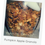 Pumpkin Week Day 4 – Pumpkin Apple Granola