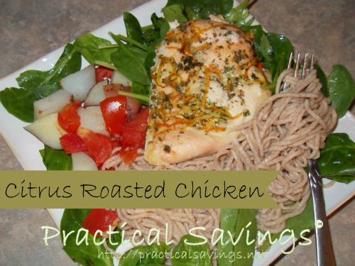 {Recipe} Citrus Roasted Chicken