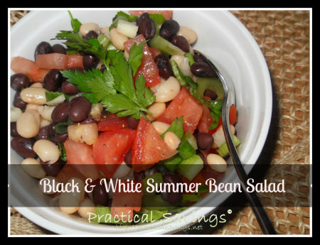 Weight Watcher's Black and White Summer Bean Salad Recipe