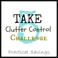 Take 5 Clutter Control Challenge Day 8