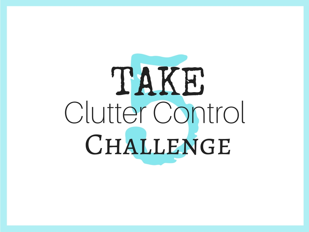 Take 5 Clutter Control Challenge