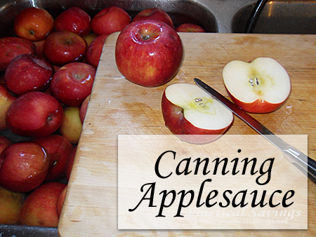 How to Can Homemade Applesauce