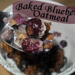 {Recipe} Baked Blueberry Oatmeal