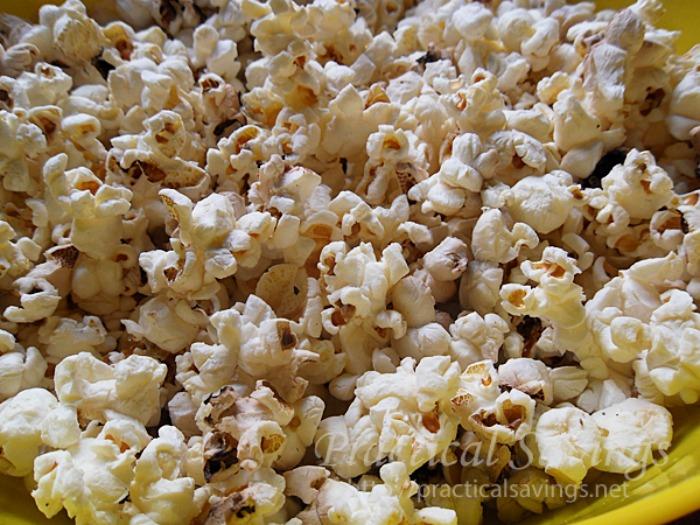 Coffee Popcorn Balls