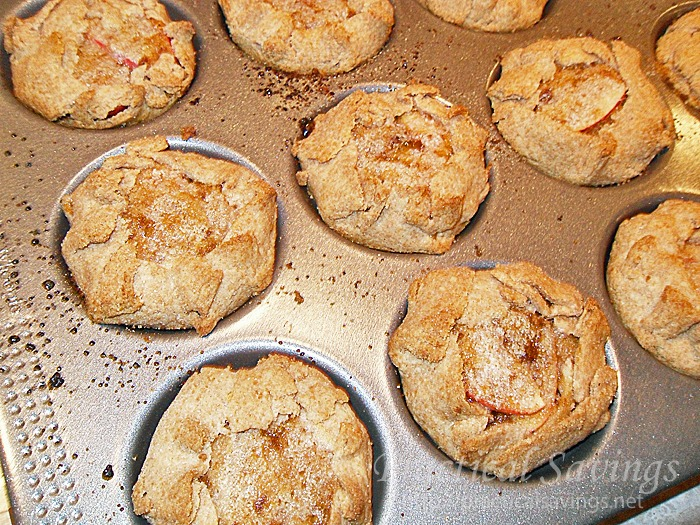 Try these mini apple galettes for a fun little festive treat.