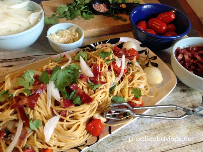 Try this incredibly easy, one pot pasta dish.