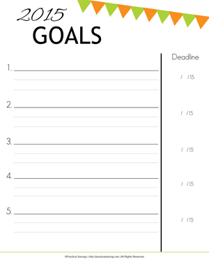 Get your FREE Goal Planning worksheet.