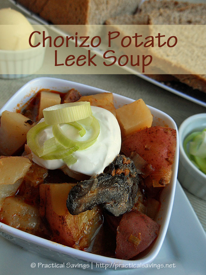 Chorizo Potato Leek Soup