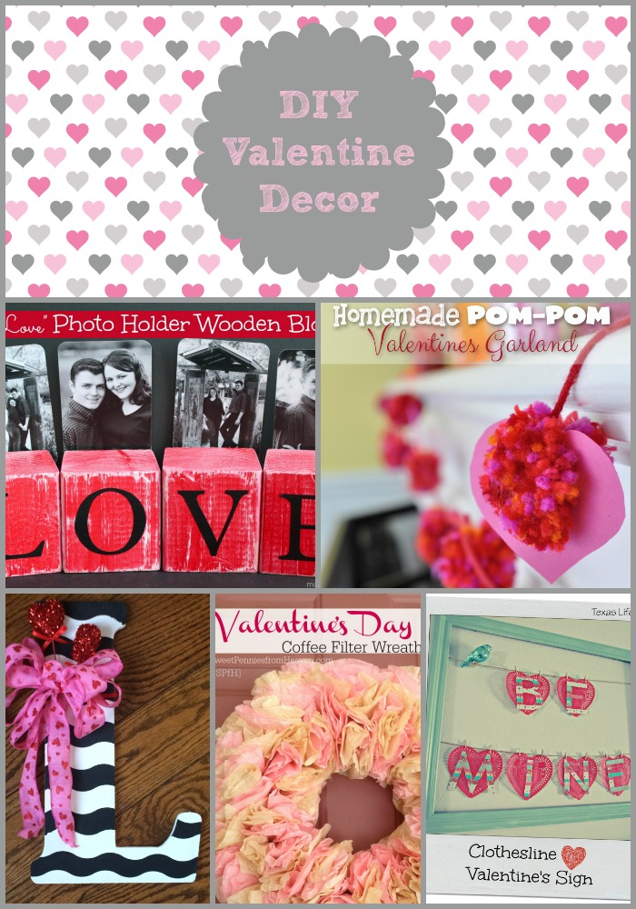 16 DiY Valentine's Day Decorations
