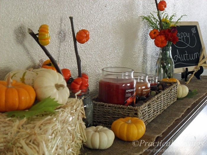 Simplifying Your Autumn Decor Sponsored by American Home™ by Yankee Candle® [ad] #LoveAmericanHome #cbias
