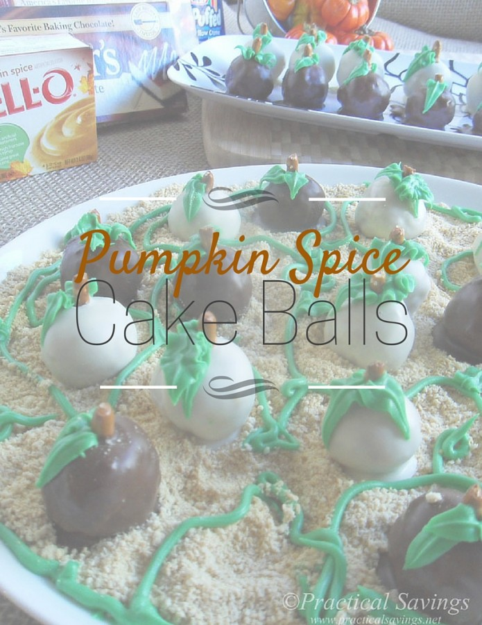 Ready for the holiday flavors? Make these simply Pumpkin Spice Cake Balls. [ad] #SweetenTheSeason