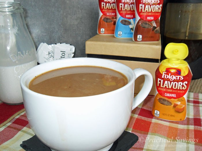 Try Folgers Flavors to #remixyourcoffee #ad