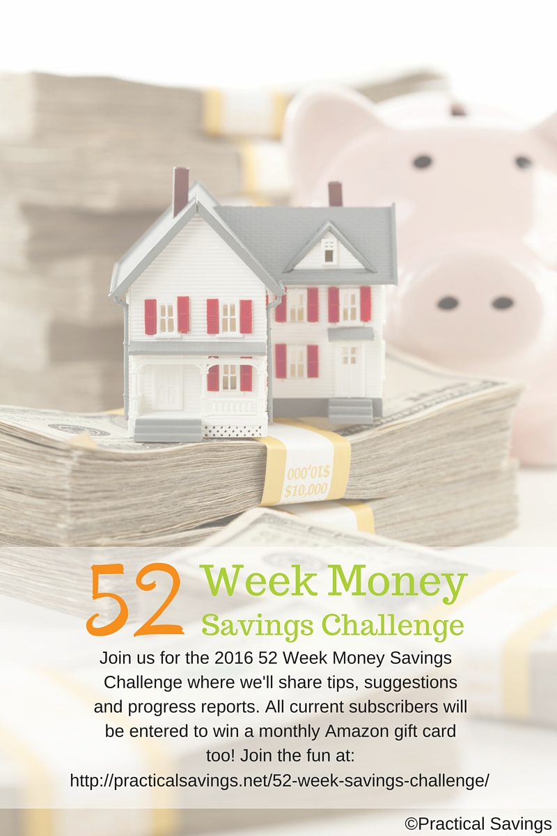 Getting Started – The Money Savings Challenge – Week 1