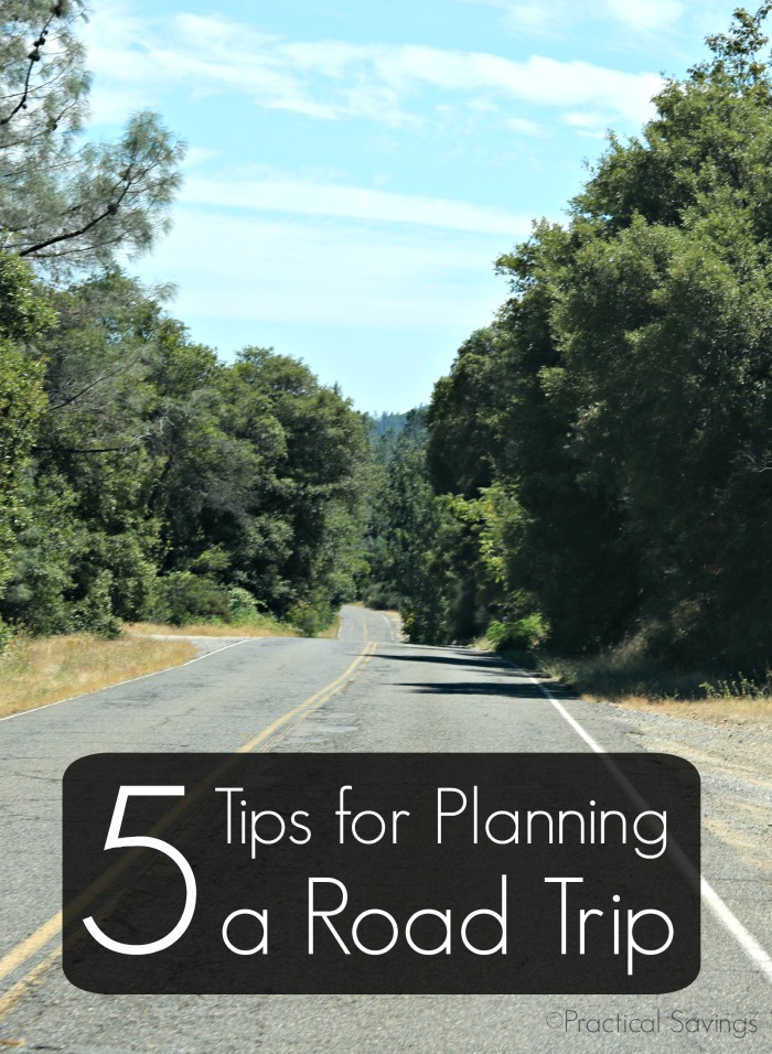 5 Tips for Planning a Road Trip